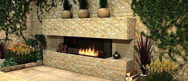 Flex 18BY Flex Fireplace - In-Situ Image by EcoSmart Fire