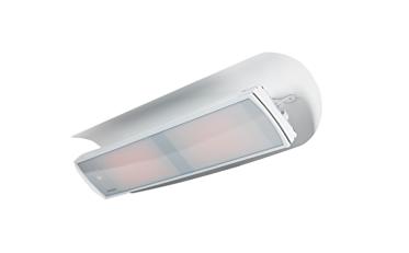 Weathershield 5 White HEATSCOPE® Accessorie - Studio Image by Heatscope Heaters