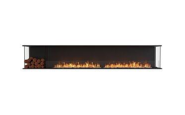 Flex 122BY.BXL Flex Fireplace - Studio Image by EcoSmart Fire