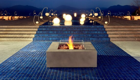 Commercial Space - Base 40 Fire Pit Table by EcoSmart Fire